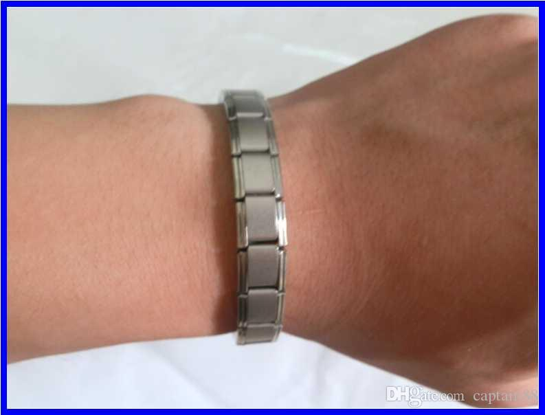 heißer Verkauf Neue Ankunft Energie Armband Titan, Nano Energie Magnetic Germanium Titan Armband Schmerzlinderung Powerfull!