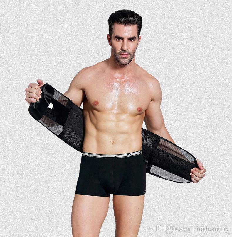 4bbd03eabcf60 2019 Man Lose Weight Belt Abdomen Beer Belly Girdle Men S Inner Muscle Belt  For Slimming Waist Tummy Shaper Corset Slimming Cummerbunds Male From  Ninghongmy ...