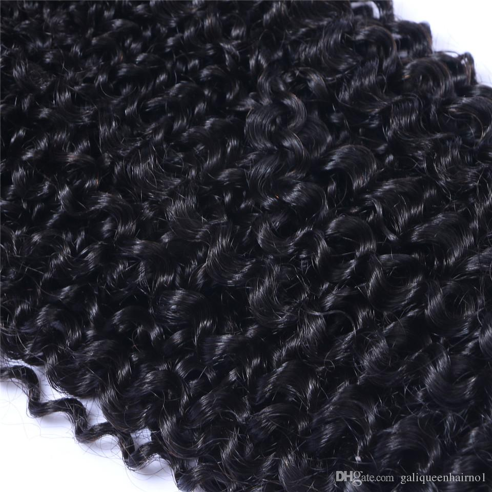 Peruvian Virgin Human Hair Afro Kinky Curly Unprocessed Remy Hair Weaves Double Wefts 100g/Bundle 1bundleCan be Dyed Bleached