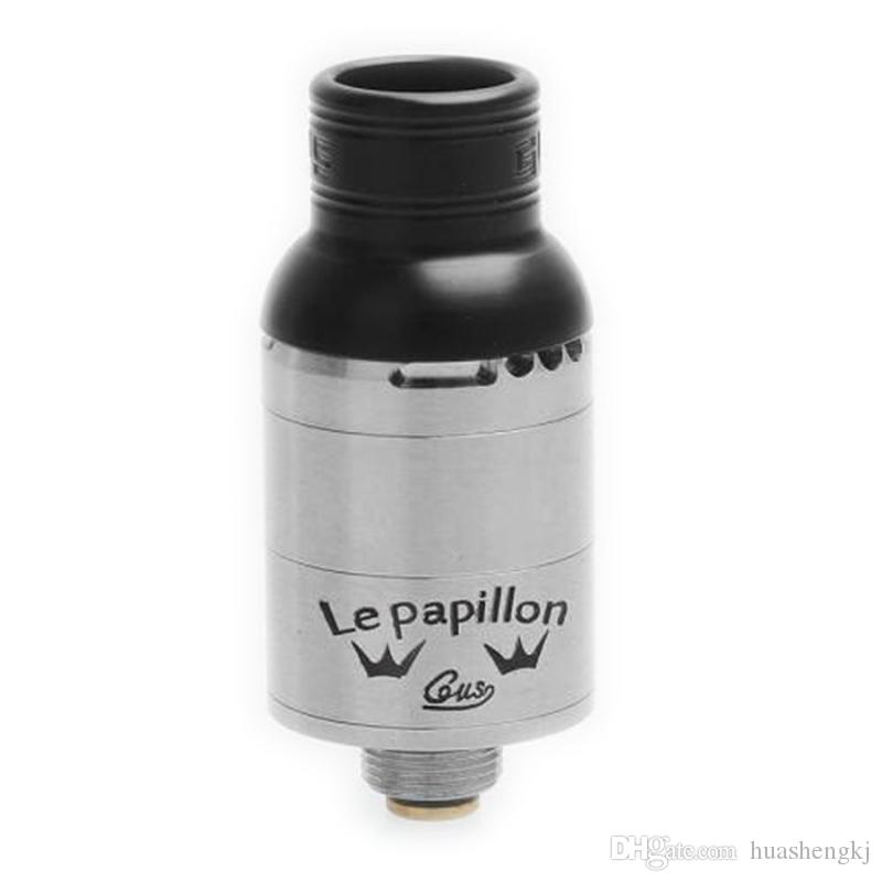 Newest Gus Le Papillon RDA LePapillon Replaceable Atomizers 16MM VAPE Vaporizer 304 stainless steel Small body big smoke High quality DHL