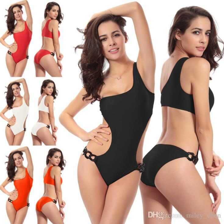 485a4613de Cheap Sexy Bandage Two Piece Swimsuits Best Two Piece Swimsuits High Waist