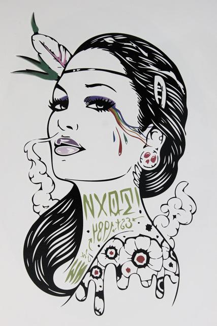 fe5c1628af682 Wholesale Smoke Gangster Women With Sexy Lips 21 X 15 CM Sized Sexy Cool  Beauty Tattoo Waterproof Hot Temporary Tattoo Stickers Temporary Tattoos  Designs ...