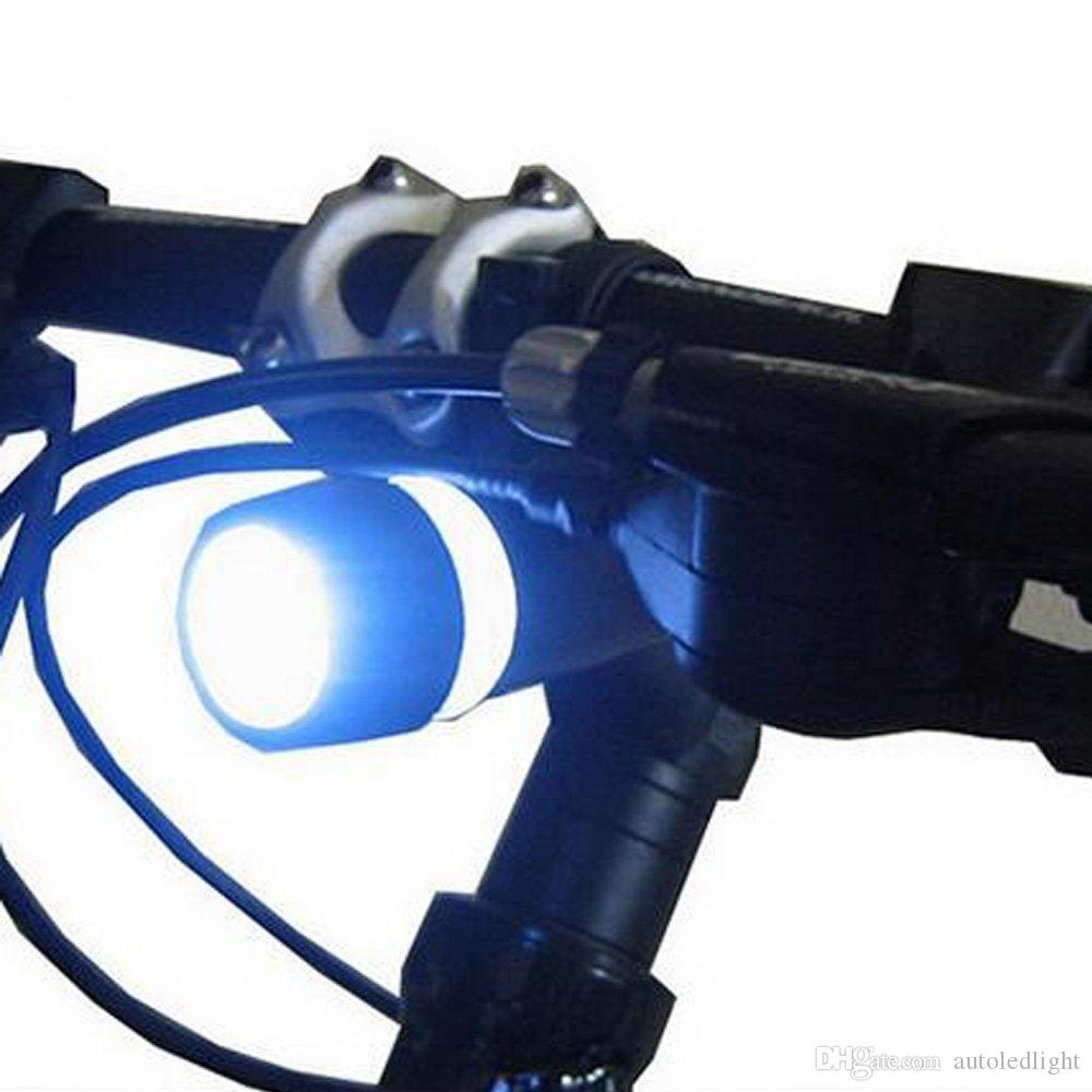 Fahrrad Licht Set Wasserdicht 5 LED Lampe Fahrrad Frontscheinwerfer Heck Sicherheits Rücklicht Taschenlampe Set LED Fahrrad Rücklichter Scheinwerfer