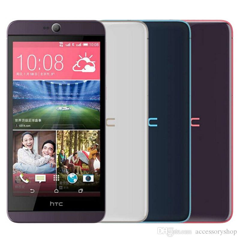 Refurbished Original HTC Desire 826 826W 4G LTE Dual SIM 5 5 inch Octa Core  2GB RAM 16GB ROM 13MP Unlocked Android Smart Phone DHL 1pcs