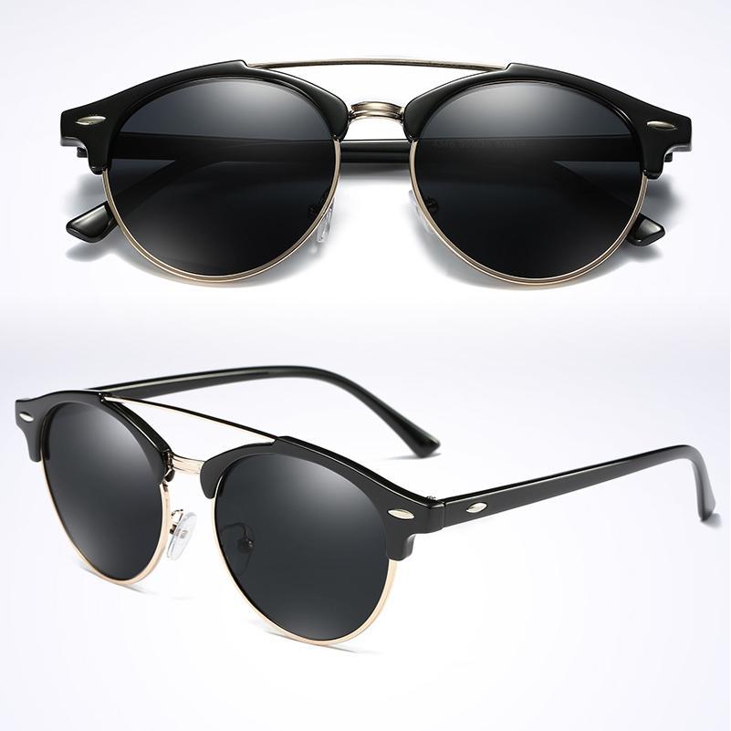 e4c63bc3264c1 2017 Ray Brand Luxury Designer Polarized Aviation Round Sunglasses Men  Vintage Retro Glasses Women Driving Metal Eyewear Oculos Sunglasses Brands  Best ...