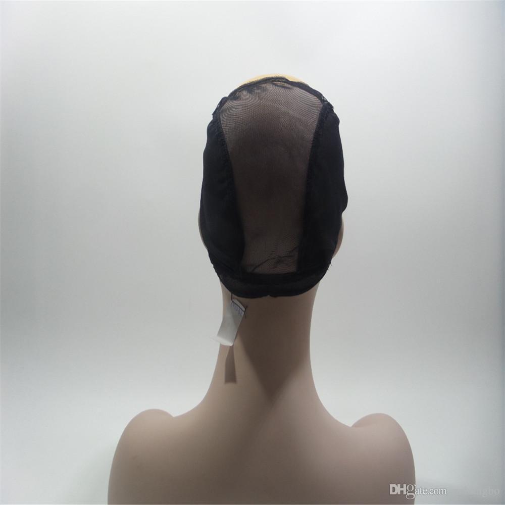 Peluca llena del cordón del pelo humano del cordón Peluca de seda mayor ondulada Pelucas llenas del cordón del pelo Brasileño de la Virgen 100% con los flequillo para las mujeres Color 33 # marrón claro