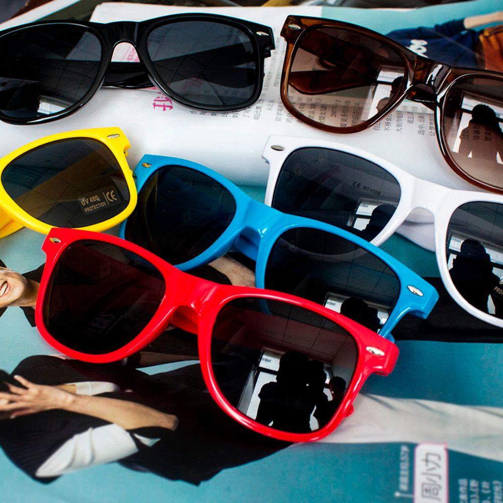 f1ac994411ad Wholesale-2016 Hot Plastic Men Sun Glasses Colorful Mirror Vintage ...