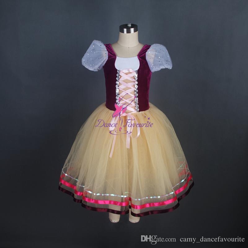 25db0e19720 Acheter 2018 Lumière Orange Danse De Ballet Romantique Tutus Spectacle De  Scène Costumes Femmes Robe De Ballerine Robe Adulte Filles Ballet Tutu  Justaucorps ...