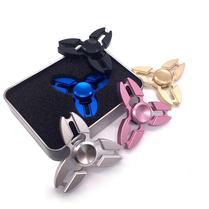 Newest EDC Fidget Spinner HandSpinner Fingertip Gyro Hand Spinner EDC Toy For Decompression Anxiety Toys with Retail Box DHL