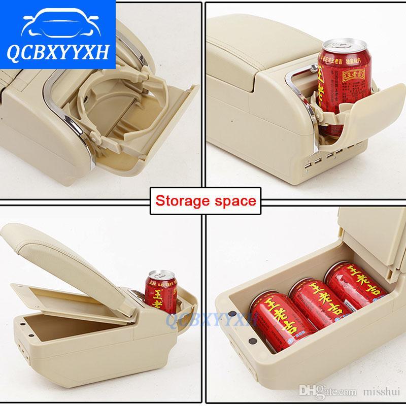 Для SUZUKI Swift подлокотник коробка центральный магазин содержимое коробки с подстаканник пепельница продукты автомобиль-стайлинг аксессуары 2008-2017