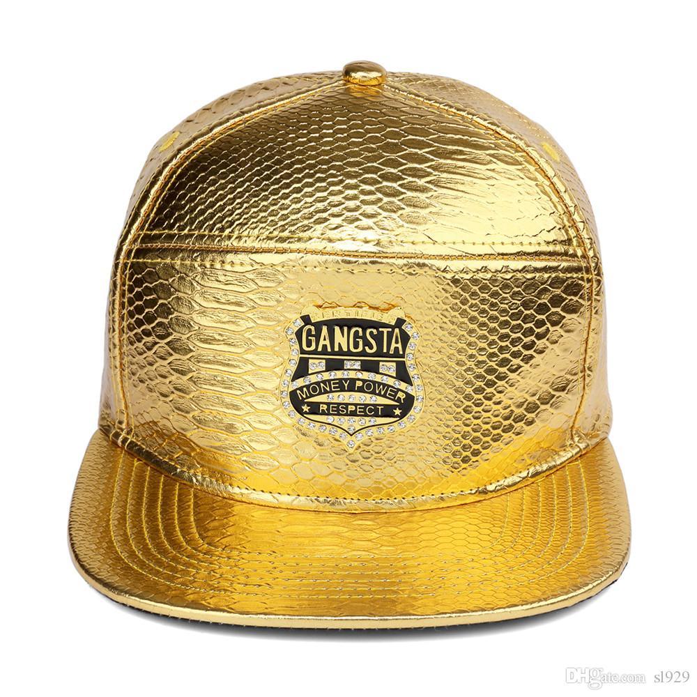 Fibbia da cintura di alta qualità Modello di coccodrillo Tide People Cappello Hip Hop lungo il berretto da baseball Cap Uomini e donne Modelli