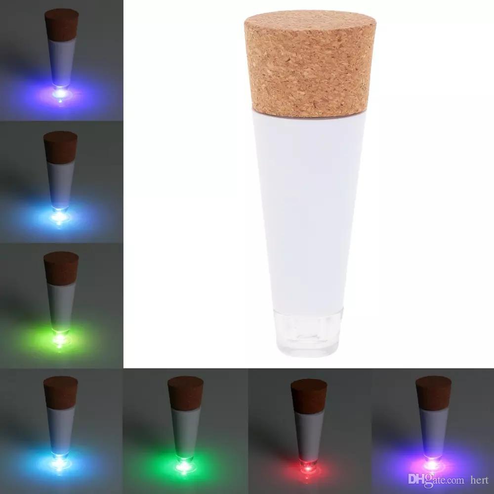 новые оригинальность свет Корк Shaped аккумуляторная Рождество USB бутылка света бутылка светодиодная лампа пробка Plug бутылка вина USB LED Night Light L0803