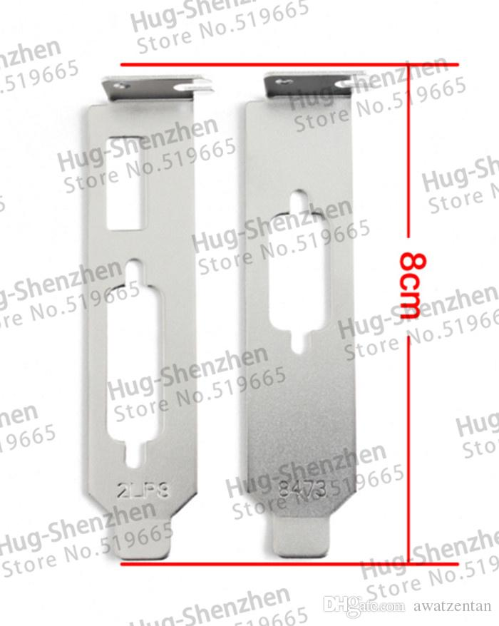 Высокомарочная видеокарта графиков низкопрофильный кронштейн HDMI+DVI+VGA для видеокарты