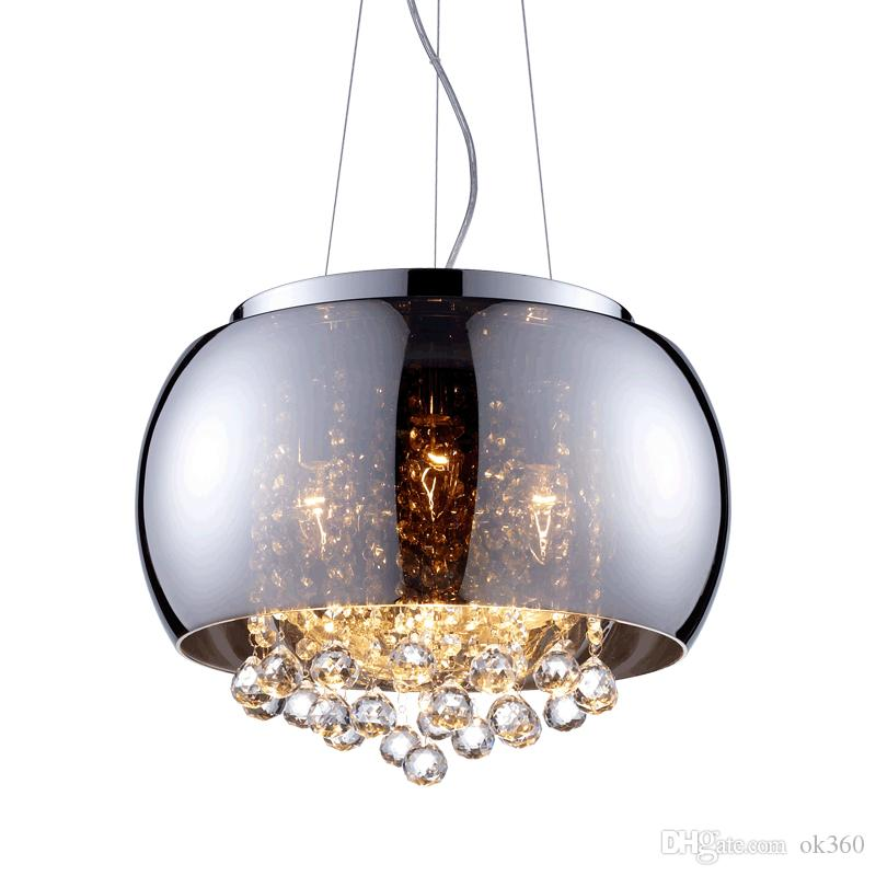 Ceiling Lights & Fans Lights & Lighting Dynamic Retro 1 Pcs Pendant Lamp For Dining Room Corridor Led Crystal Hanging Light Industrial Suspending Lights Villa Hotel Fixtures High Quality Goods