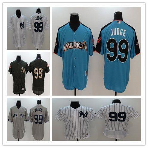 da14916b0 ... Authentic Flex Mens New York Yankees Jersey 99 Aaron Judge Navy Blue  2017 All Star Baseball Jerseys Aaron ...