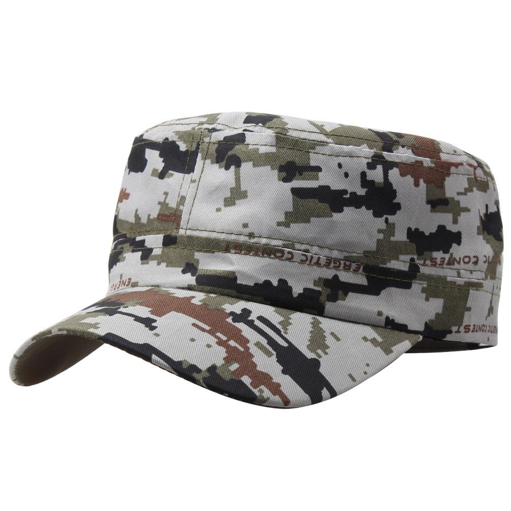 Wholesale Marine Corps Hat Camouflage Flat Top Cap Men Patriot Baseball Cap  US Club Navy Poster Commando Hats W Hats For Men Hatland From Gwyseller 3d0a3131e150