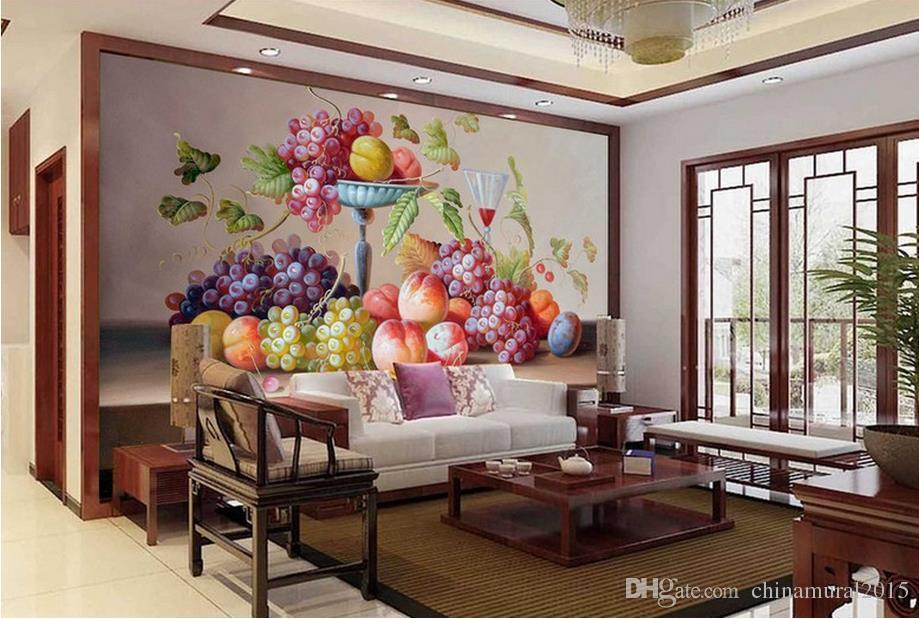 wallpaper bathroom HD fruit murales 3d murales de pared papel pintado