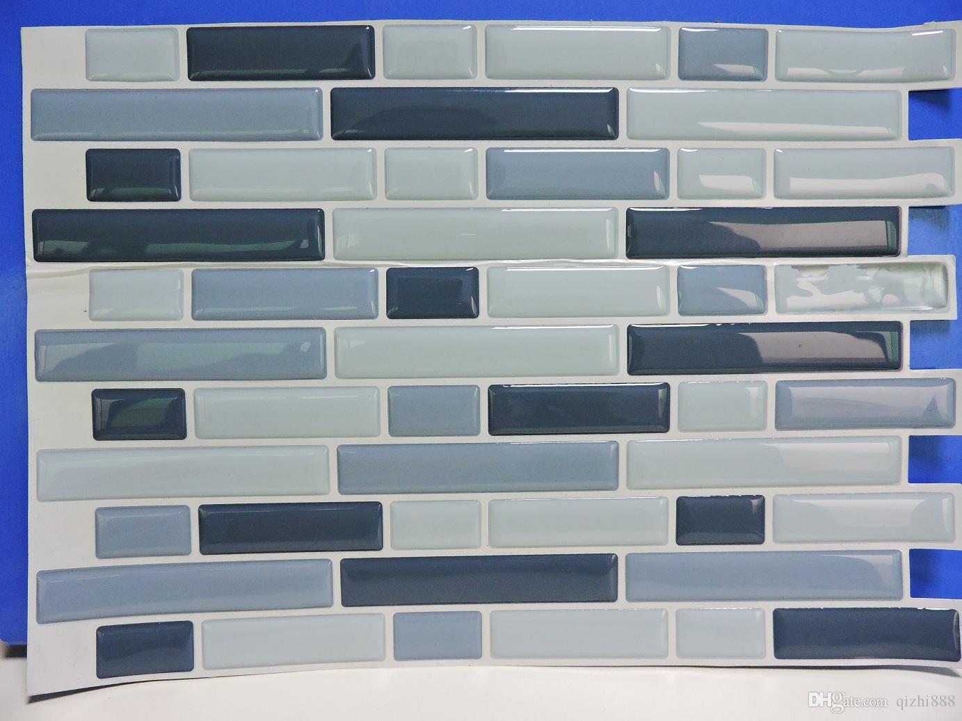 Peel And Stick Tile For Kitchen Walls Backsplash Tile Kids Wall ...