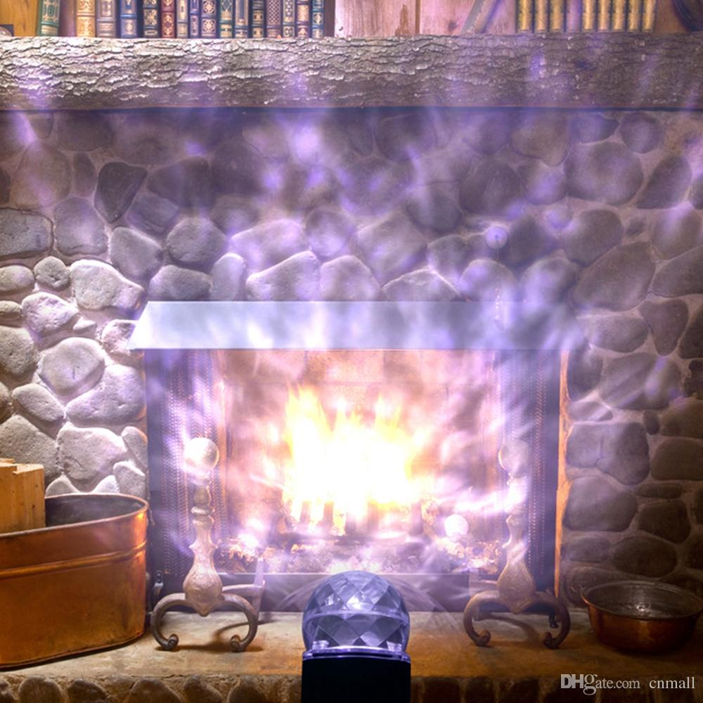 2018 LED Kaleidoscope Spotlight Rotating Led Projector Light Outdoor ...