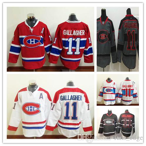 official photos dc935 e035d montreal canadiens 11 brendan gallagher black ice jersey