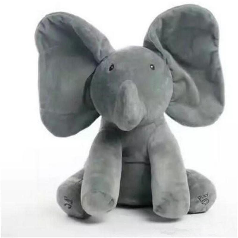 Soft Elephant Plush Toy Cute Baby Animated Flappy The Elephant Plush