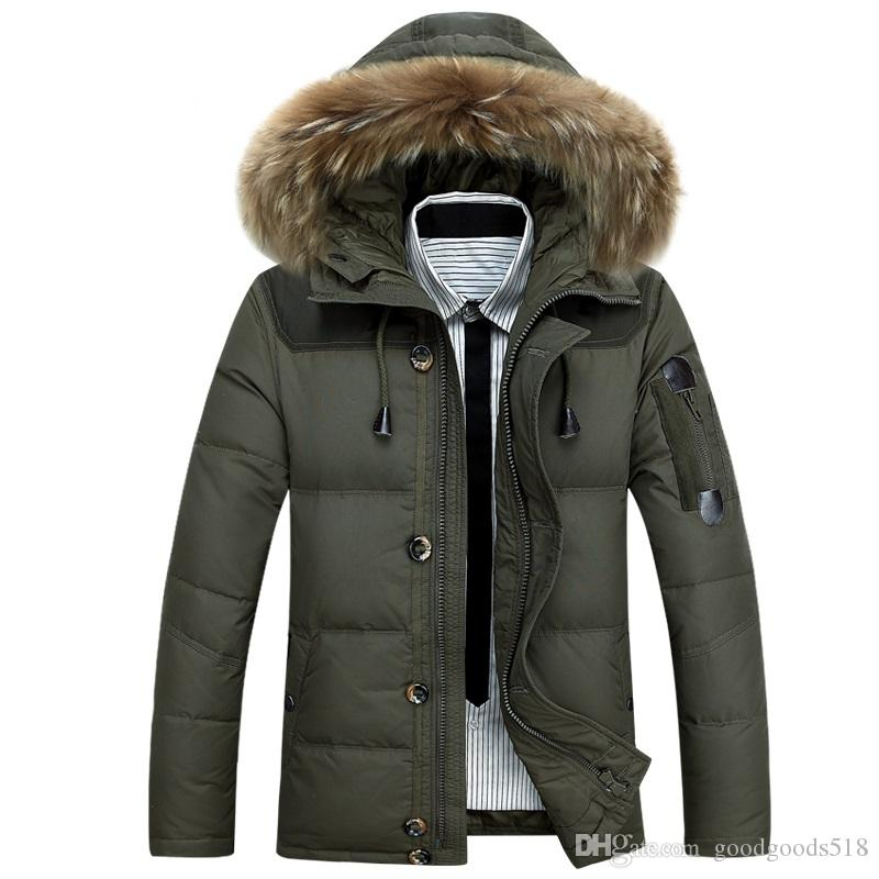 2017 Afs Jeep Down Jacket Male Thickening Of Cultivate One'S ...