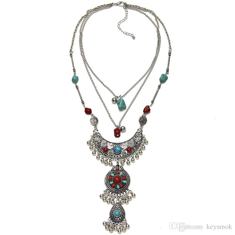 2018 2017 Hot Sale New Style Bohemian Necklace National Style ...