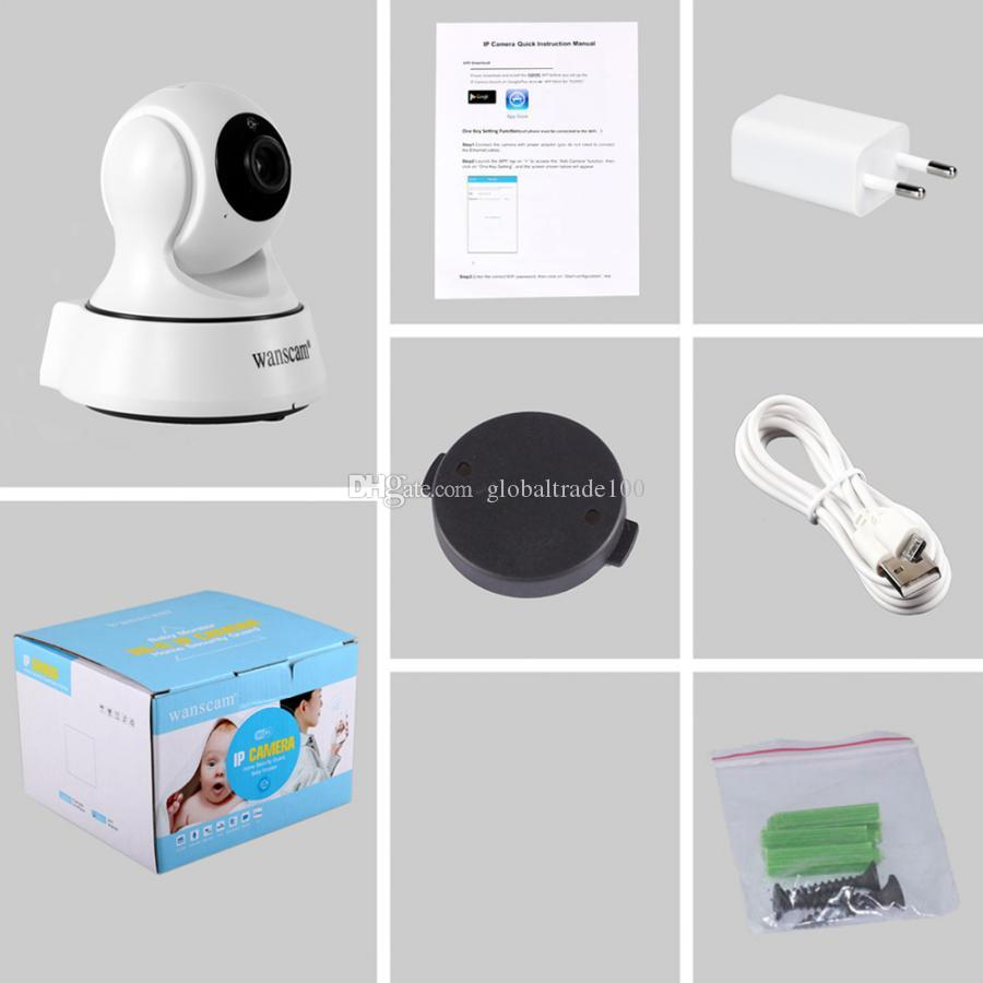 Wanscam Home Security IP Camera HD 720P Wireless WiFi Cameras Night Vision CCTV Camera Baby Monitor Surveillance HW0036