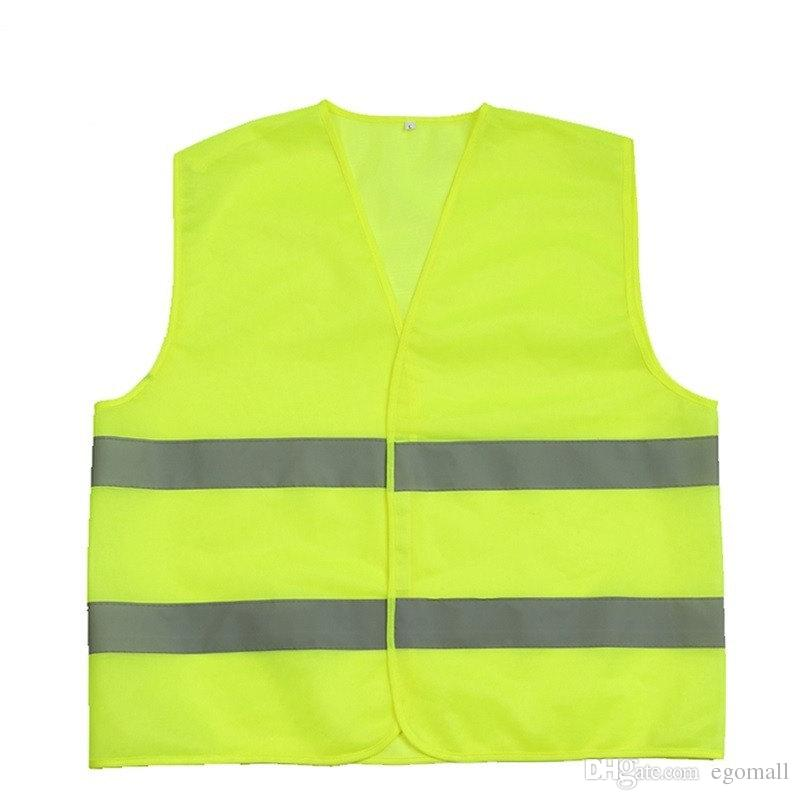 High Visibility Working Safety Construction Vest Warning Reflective traffic working Vest Green Reflective Safety Clothing