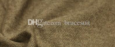 2019 Unique Wool Tweed Vest 3 Style For Choose Groom Vests British Style Mens Suit Vests Farm Wedding Waistcoat Mens Dress Vests Plus Size