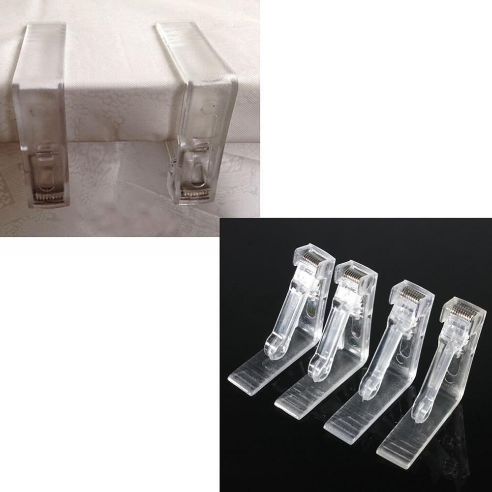 4x Clear Plastic Transparent Tablecloth Tables Useful Clips Holder Cloth  Clamps Party Picnic Wedding Prom Folding Cloth Napkins Napkins Cloth From  Syc9, ...