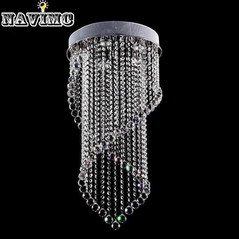 Modern Crystal Chandelier Light Fixture Crystal Light Lustres For ...
