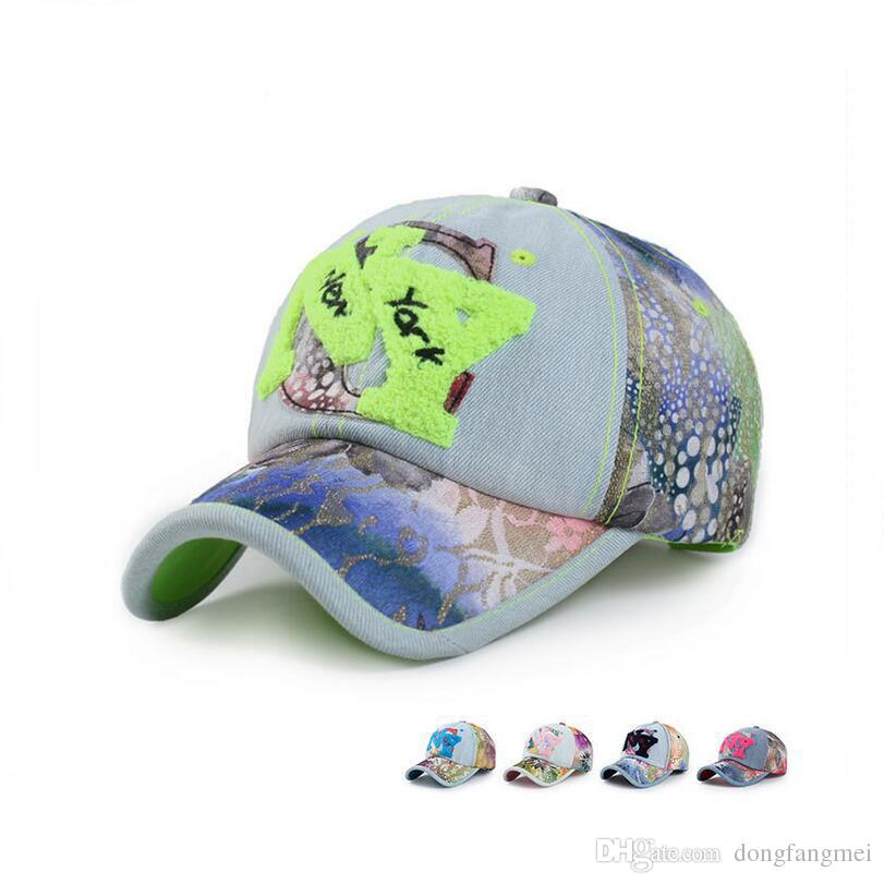3a8e2456055 Best Gift Towel Embroidered Cowboy Hat Lady Lace Flower Cloth NY Baseball  Cap Spring Summer Sun Hat DMB031 Customized Hats Custom Hat From  Dongfangmei