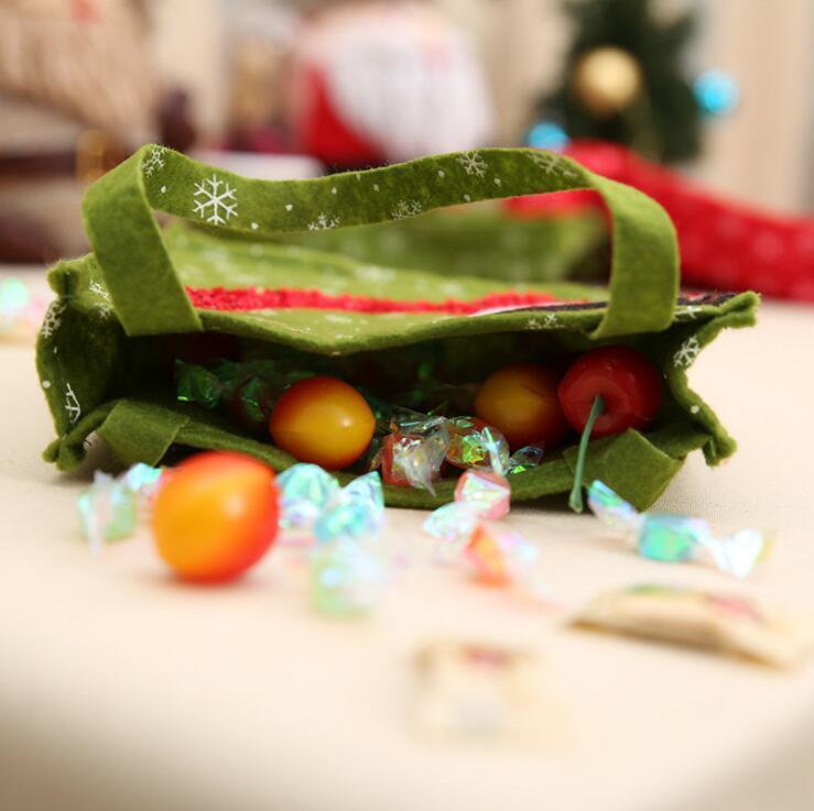 4 modèles de nouvelles décorations de Noël porte-cadeaux du Père Noël sacs-cadeaux Joyeux sacs de bonbons de Noël