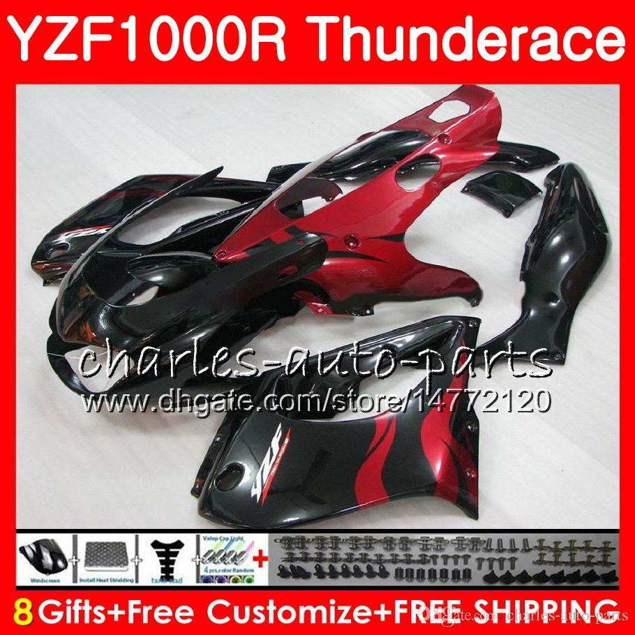 Corpo YAMAHA Thunderace YZF1000R 96 97 98 99 00 01 07 TOP red fames 84NO17 YZF-1000R YZF 1000R 1996 1997 1998 1999 2000 2001 2007 Carenatura