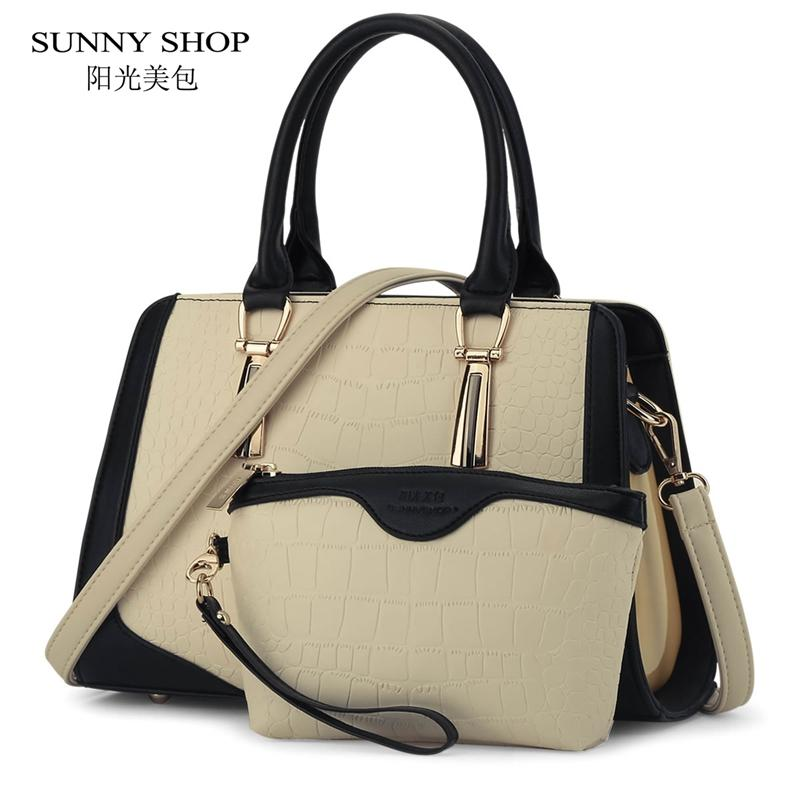 9be4eb05fab2 Wholesale SUNNY SHOP Brand New Women Bag Alligator Pattern Women Messenger  Bags American Handbags High Quality Shoulder Bags With Wallet Best Messenger  Bags ...