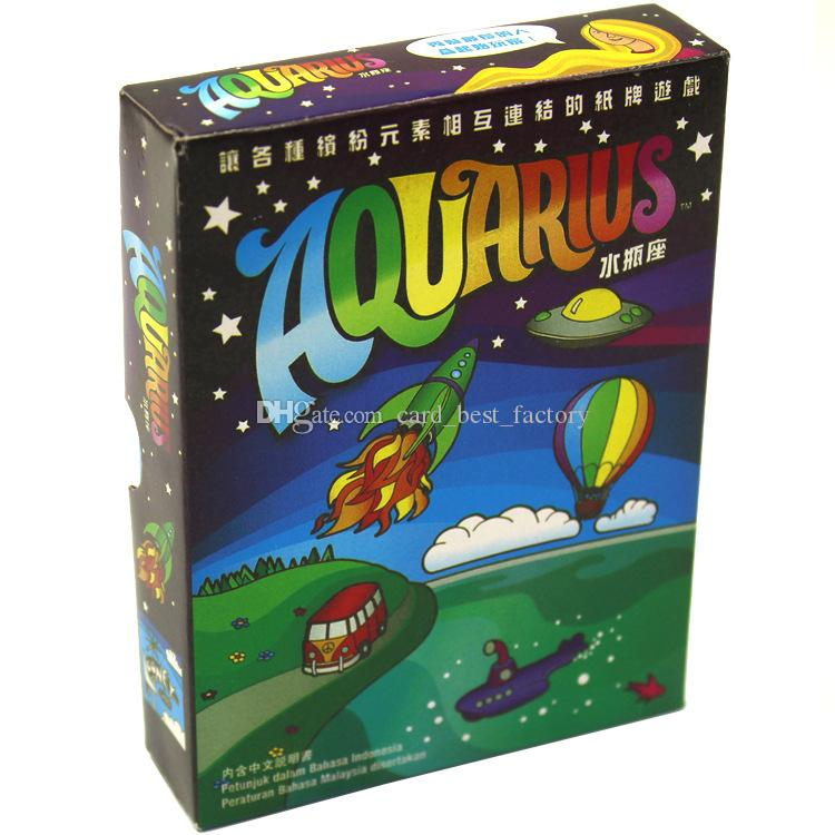 Aquarius A Card Game Of Elemental Connections Board Game For 2-5 Player Playing Party Game