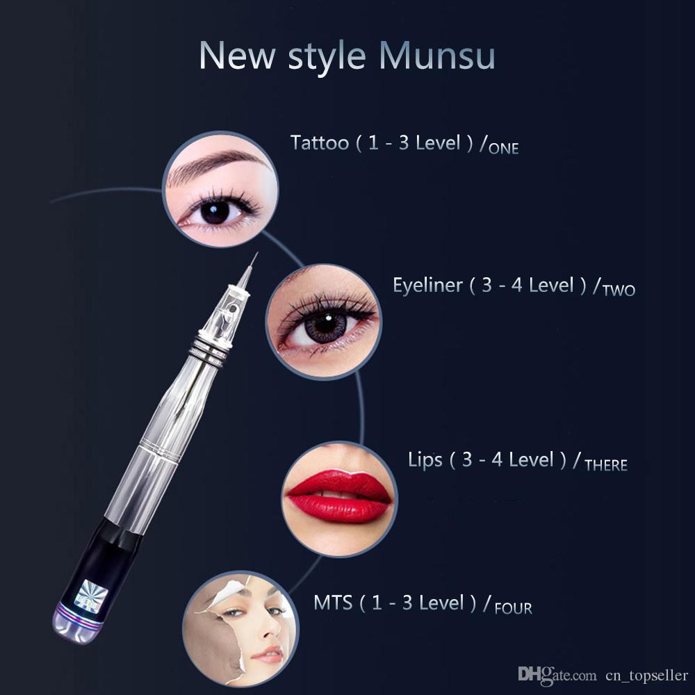 محدثة MK-314 اللاسلكية Chargable Eyebrow Lip Eyeline ماكياج دائم الكل في واحد جهاز الوشم