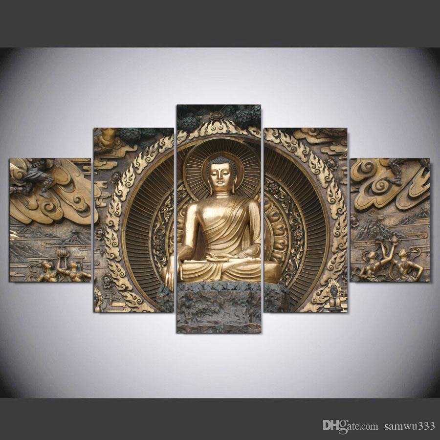 2017 Hd Print Religion Buddha Painting On Canvas Wall Art Print Home Decor  Wall Art Picture Living Room Decor Painting From Samwu333, $18.1 |  Dhgate.Com
