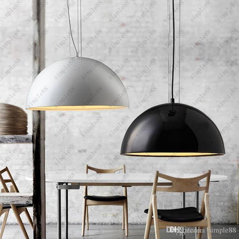 Charmant Italy Flos Skygarden Pendant Lights White/Black/Golden Resin Lamp Kitchen  Restaurant Lighting Fixture E27 110v 240v Lights Hanging Light Hanging From  ...