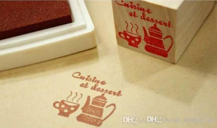 DHL Ücretsiz Nakliye 500 adet Çok Renkli 15 renkler DIY Çalışma Yağı Degrade Damga Set Büyük Zanaat Mürekkep Pedi Inkpad Craft Kağıt
