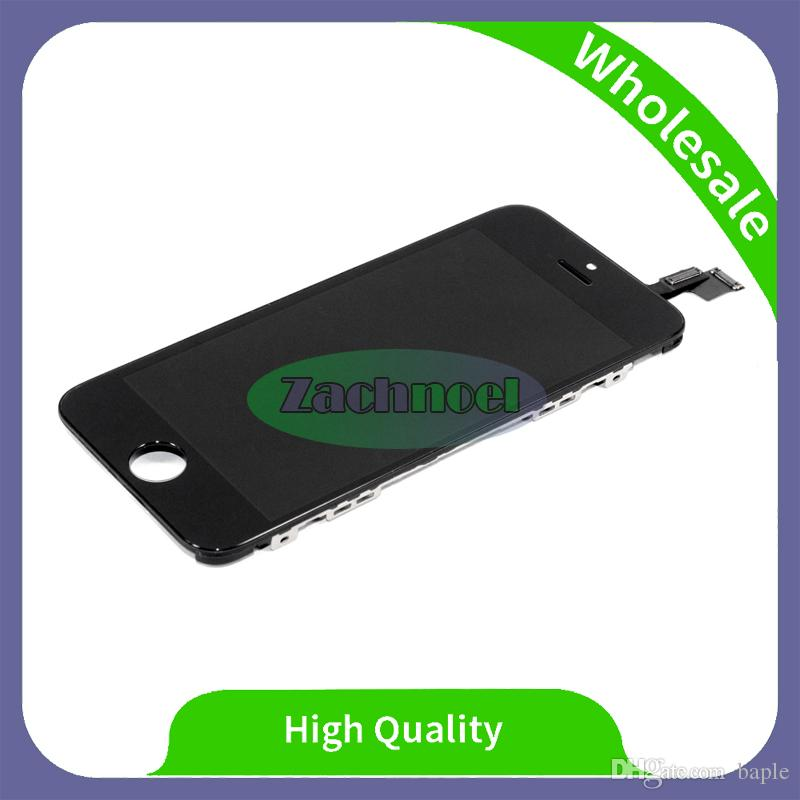 For iPhone 5c Tianma LCD Display With Touch Screen Frame Digitizer New A+++ Quality Assembly Replacement Free DHL