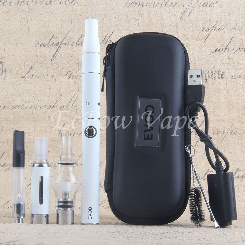 4in1 Vaporisateur kit vape stylo inclus 510 huile cartouche mt3 eliquid globe verre cire