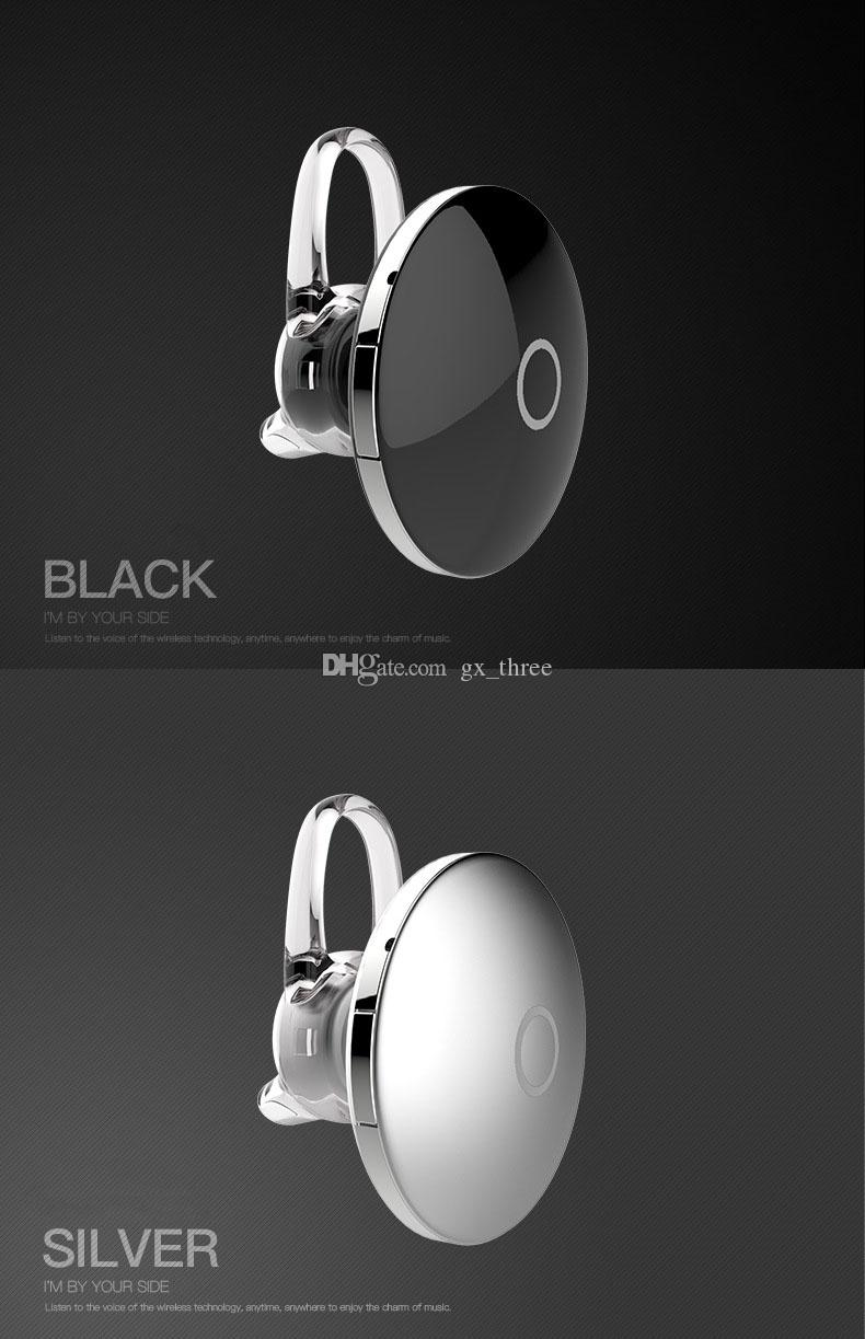 Четыре языка Мини Беспроводные наушники-вкладыши Bluetooth-гарнитура Стиль НЛО CSR 4.1 Ушной крючок Стерео Наушники для iphone 7 6s Все Bluetooth-телефон