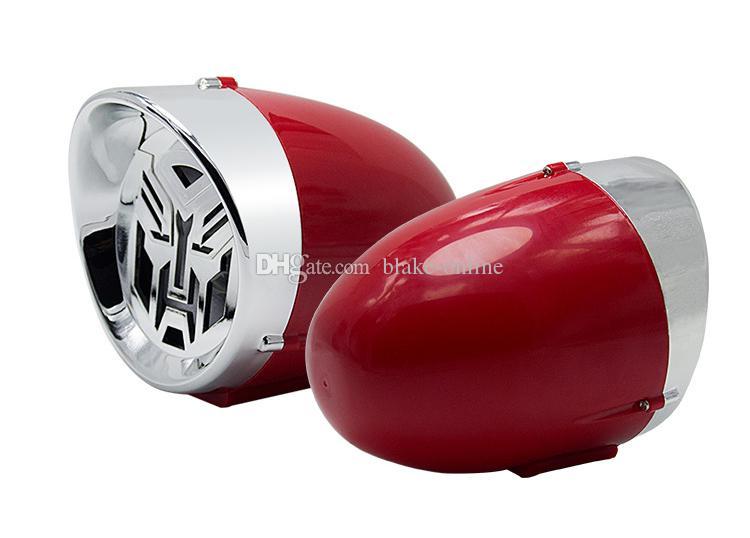 2,5 zoll Motorrad Bluetooth Stereo Lautsprecher King Kong Stil Verstärker Diebstahlwarngerät Auto HiFi Sound MP3 FM Radio USB Telefongebühr