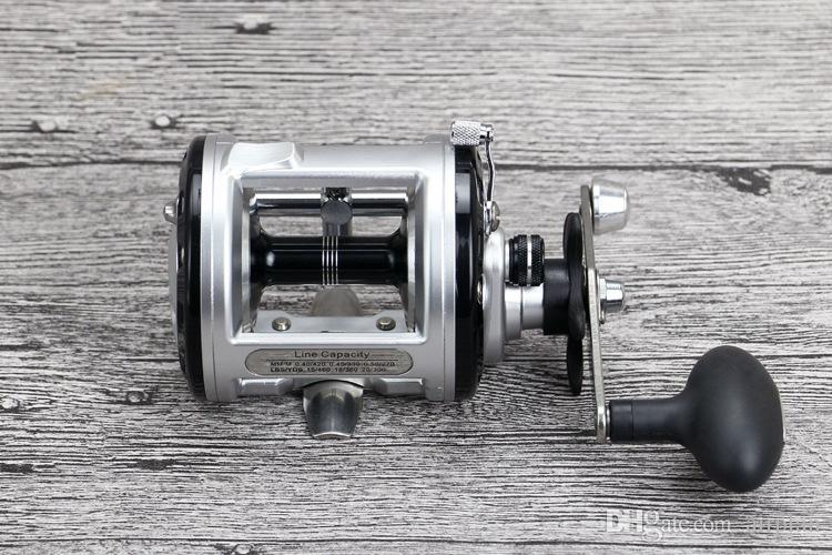Trolling Reel Pesca Fishing 12+1BB Drum Wheel Carp Reels Centrifugal Brake Casting Sea Fishing Reel Saltwater Baitcasting Reel