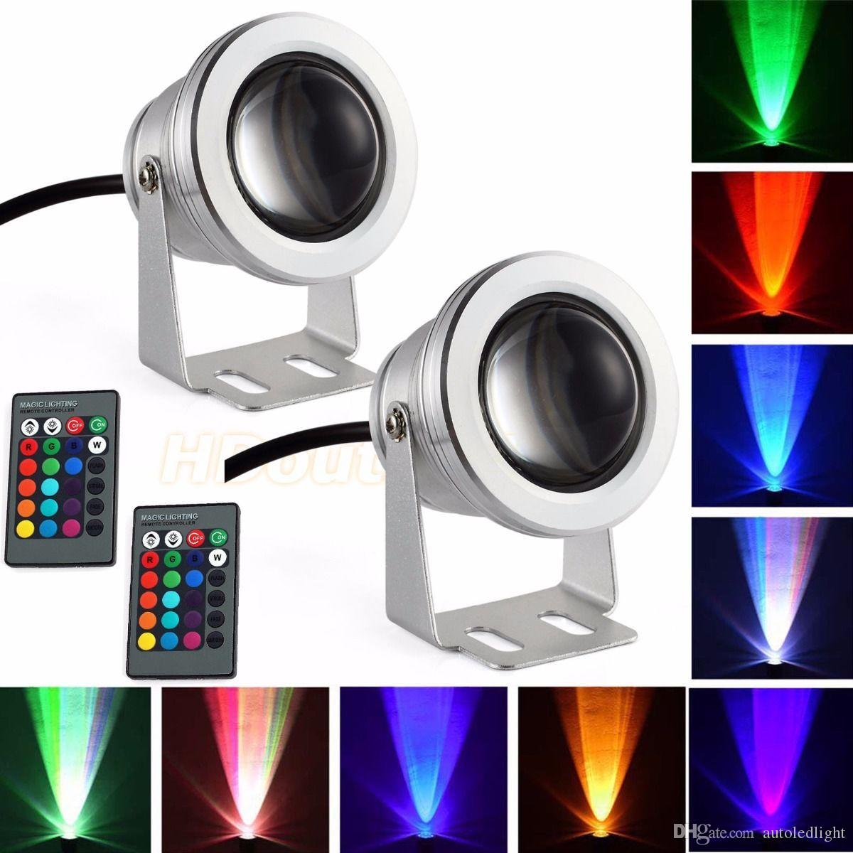 Marine Hardware Boat Parts & Accessories Provided 12v Marine Boat Decoration Light Rgb Led Underwater Light Pond Swimming Pool Waterproof Lamp Colorful