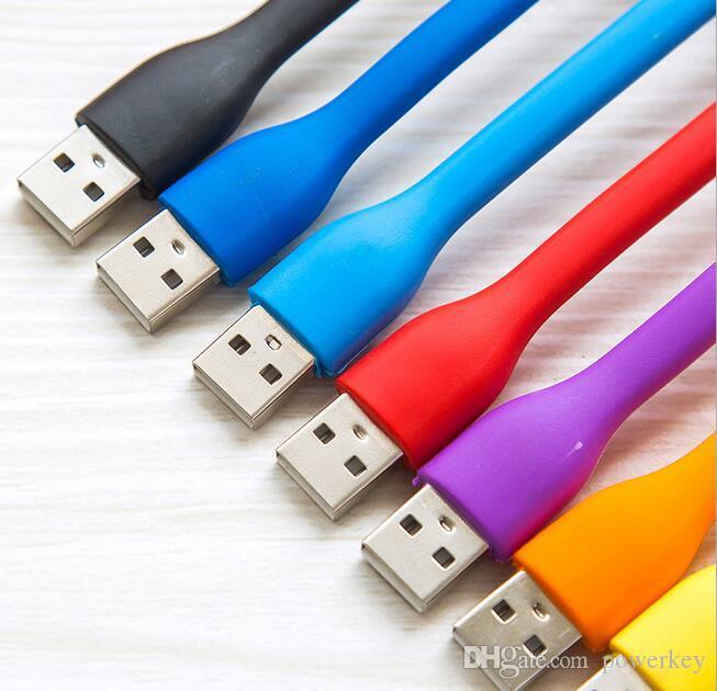 USB LED Lamp Light Portable Flexible Bendable Mini USB Light for Notebook Laptop Tablet Power Bank USB Gadets