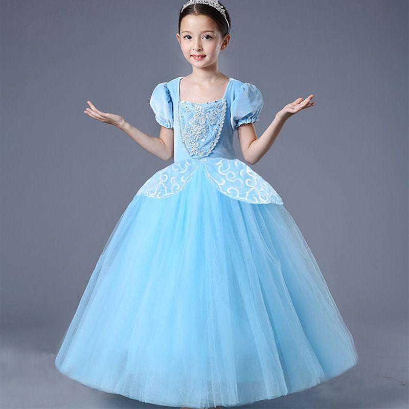 New Exclusive Cinderella Dresses Children Girls Halloween Princess ...
