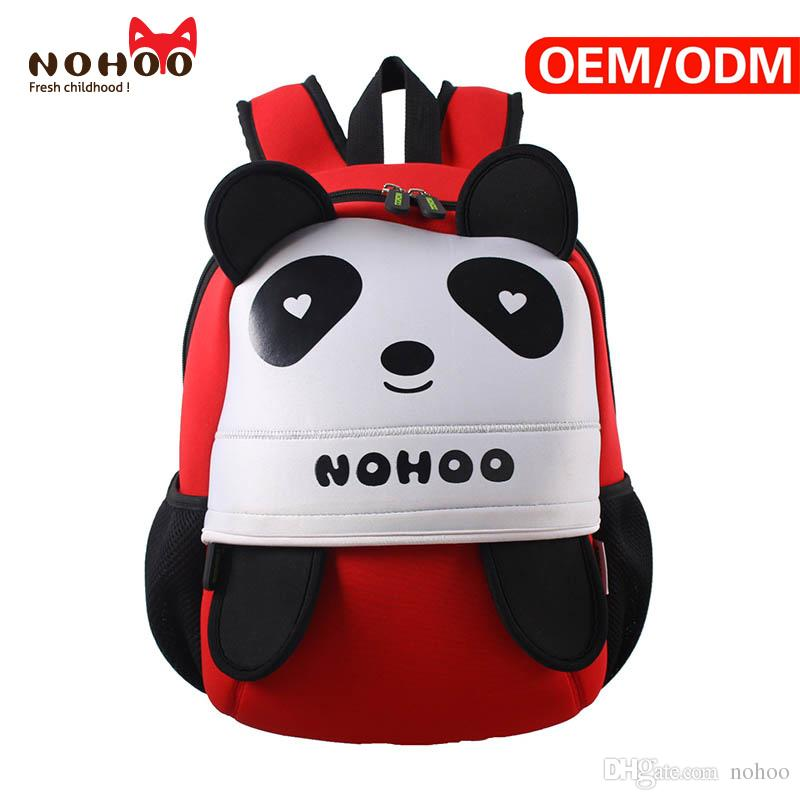 NOHOO Neorpene Material Kids Backpack Children Cute Cartoon Panda Style Bags  Child Waterproof Backpack For Toddlers Backpack With Wheels Boys Backpacks  From ... 7cf54095f9781